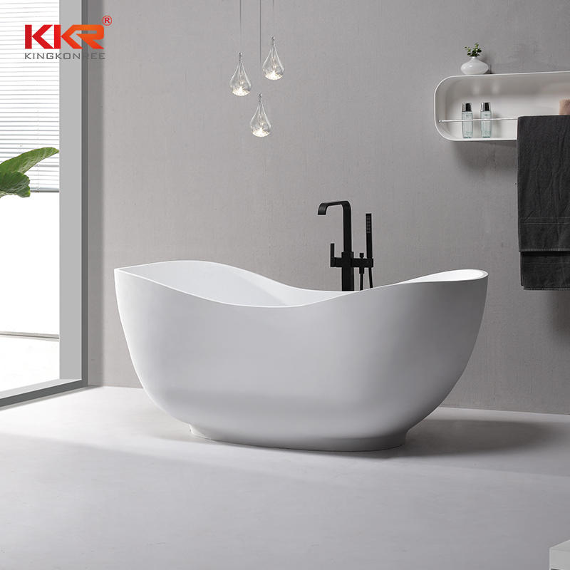 Custom Design Small Size Solid Surface Bathtub KKR-B073