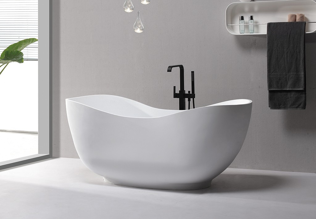 KingKonree matt modern freestanding tub OEM-1