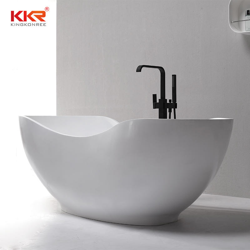 Newly 1700mm Length Acrylic Stone Solid Surface Bath Tub KKR-B073-A