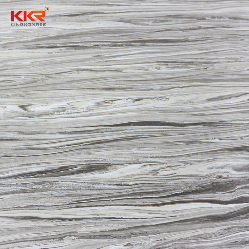 Texute Marble Pattern Acrylic Solid Surface Sheets KKR-M8851