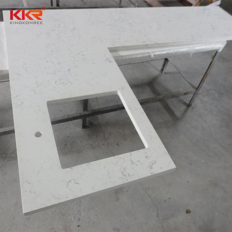 Custom Size Acrylic Soild Surface Kitchen Countertop KKR-KT001