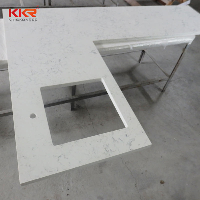 Custom Size Acrylic Soild Surface Kitchen Countertop KKR-KT001