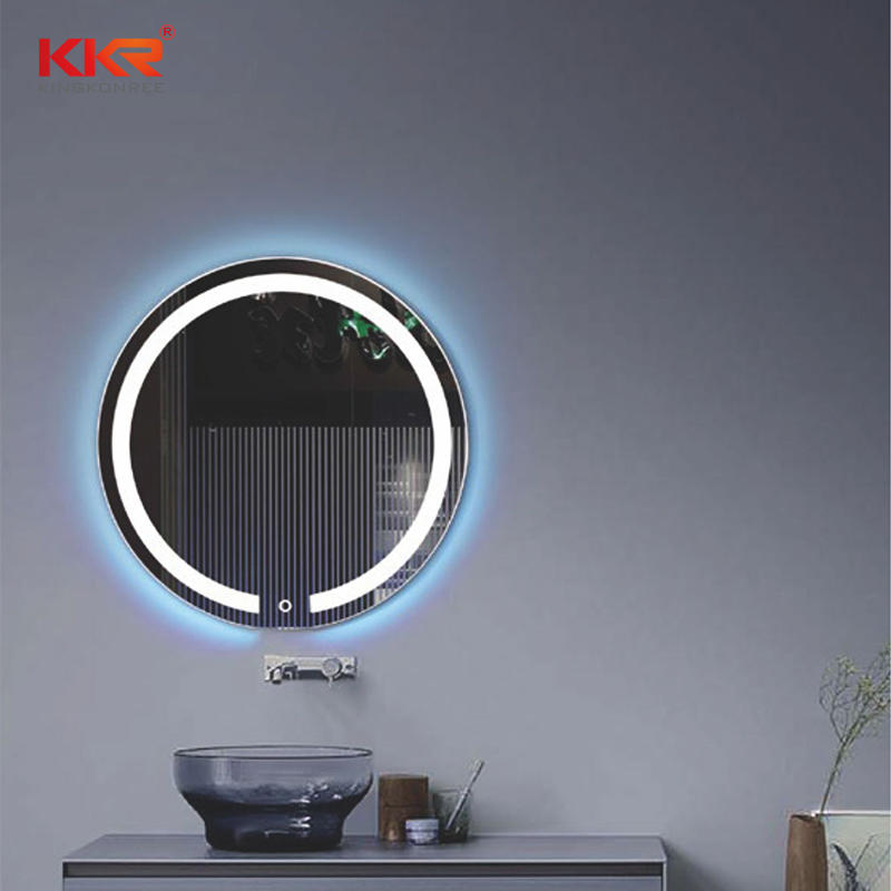 Newly Design Solid Surface Led Bathroom Mirror KKR-8015