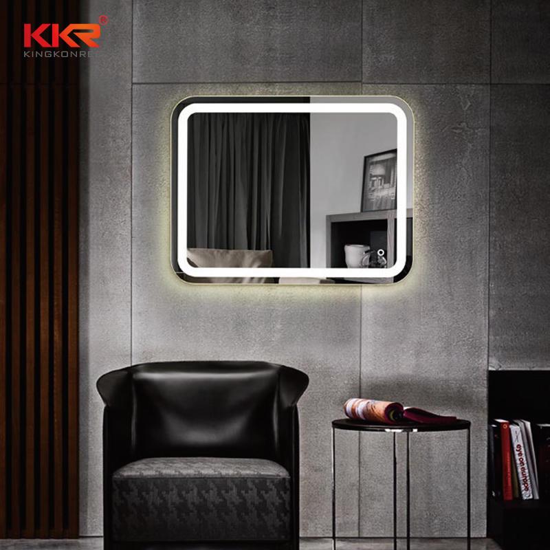 Round Corner Beauty Design LED Mirror KKR-8021