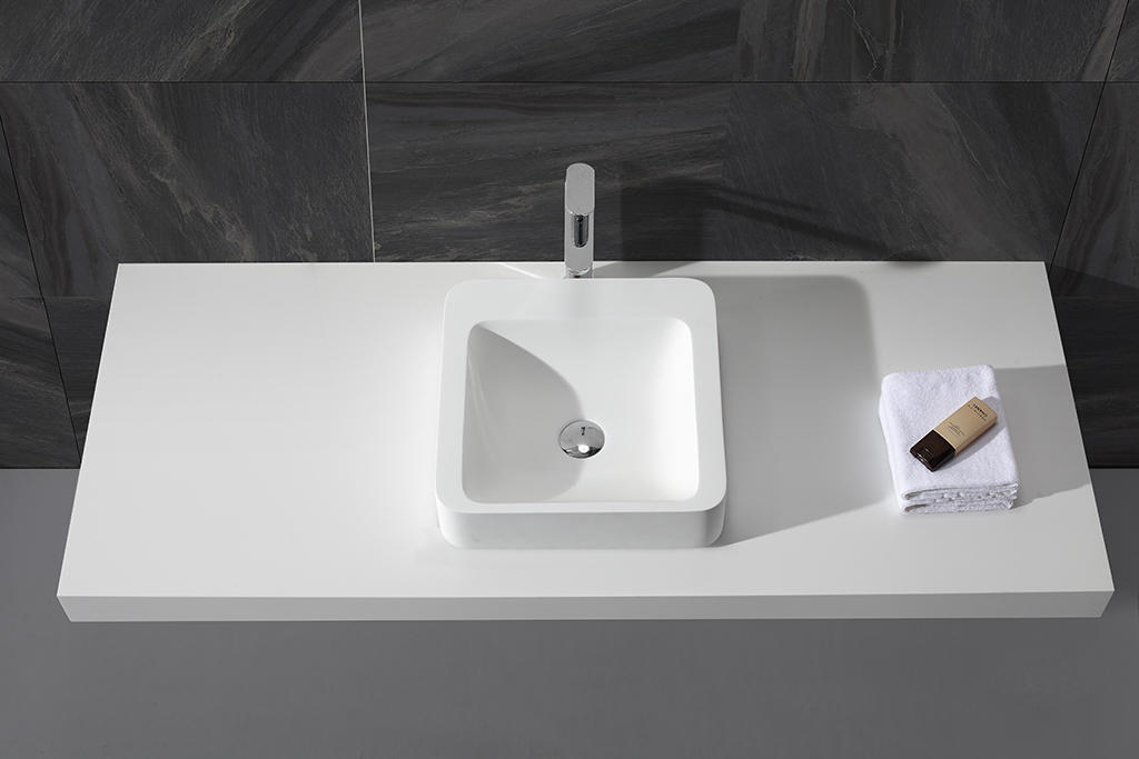 durable top mount bathroom sink european customized for restaurant