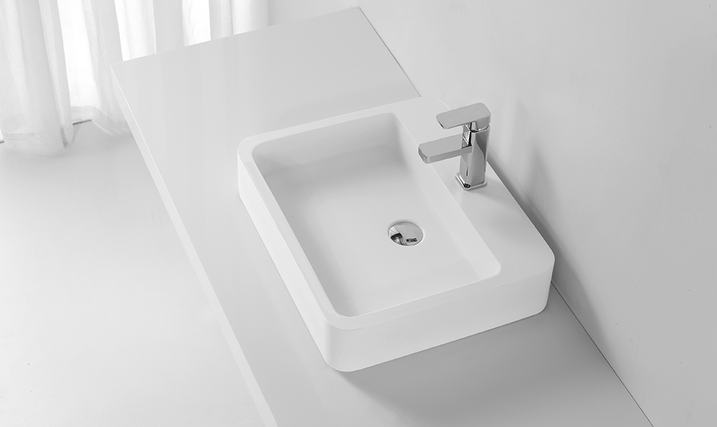 KingKonree above counter vessel sink customized for hotel-1