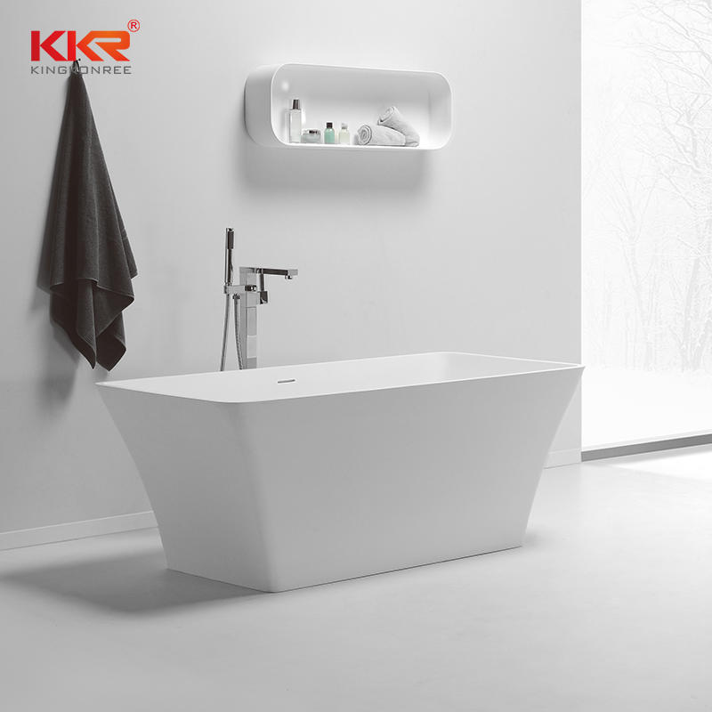 1500mm Or 1700mm Length Good Quality Soild Surface Freestanding Bathtub KKR-B074