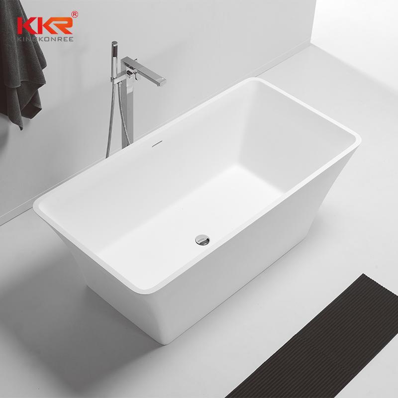 mm o 1700 mm de longitud Buena calidad Soild Surface Bañera independiente KKR-B074