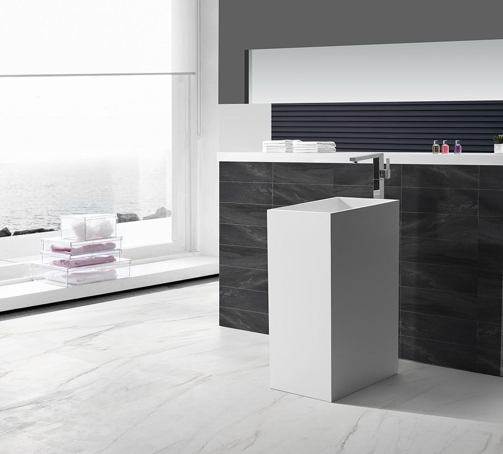 KingKonree best material solid surface basin highly-rated