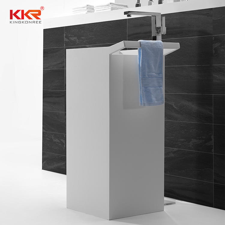 Freestanding Wash Basin With Towel Hanger KKR-1591