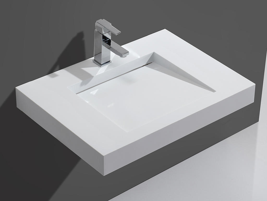 unique wall hung vanity basin sink for bathroom