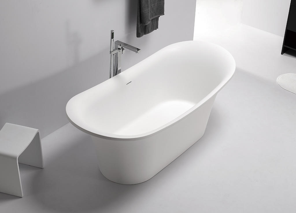matt rectangular freestanding tub custom for bathroom