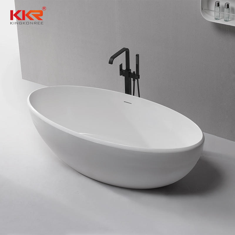 Bathroom Furniture Solid Surface Bath Tub KKR-B083