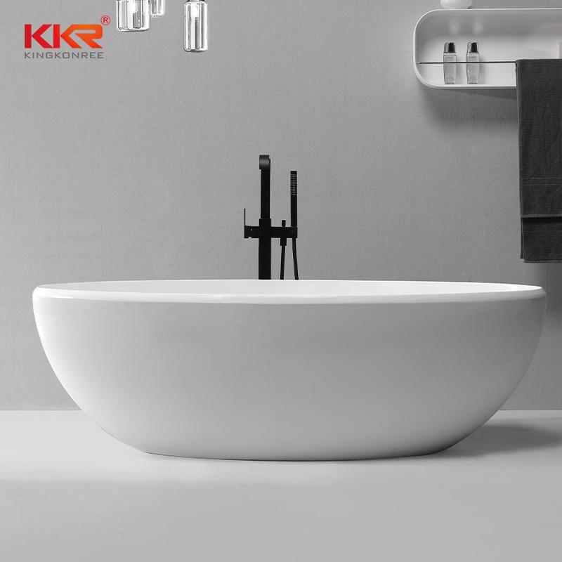 Bathroom Furniture Solid Surface Bath Tub KKR-B083