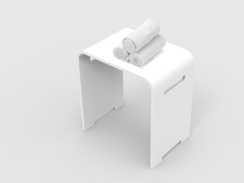 KingKonree modified plastic shower stool design for room-1