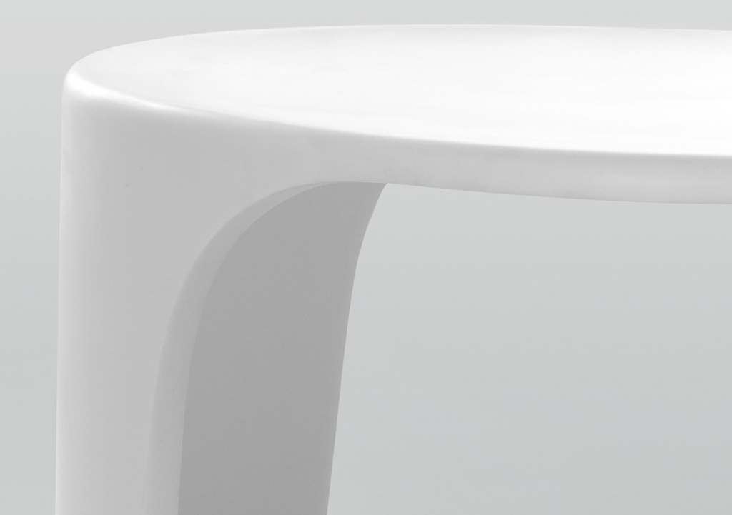 KingKonree pure plastic shower stool customized for hotel-2