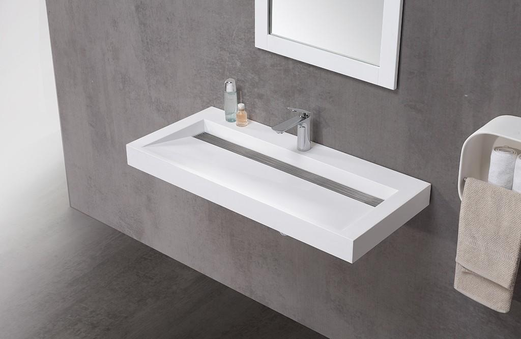 KingKonree solid surface basin top-brand