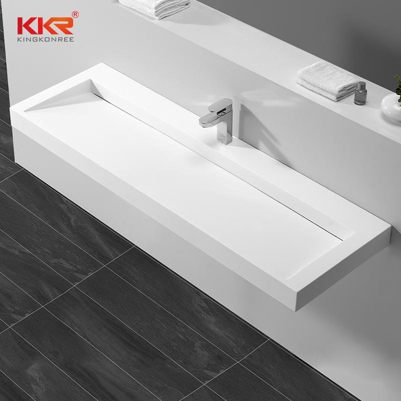 1400MM Longitud Ventas calientes Diseño europeo Lavabo de pared KKR-1265