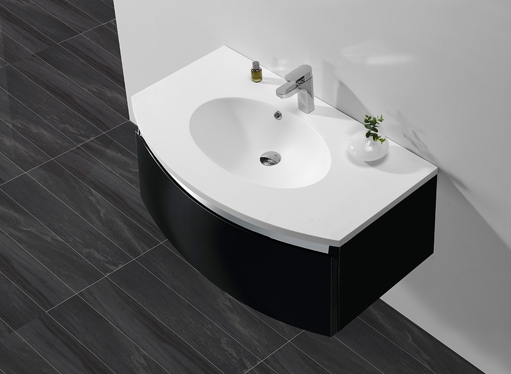 stable wash basin with cabinet hindware customized for hotel-1