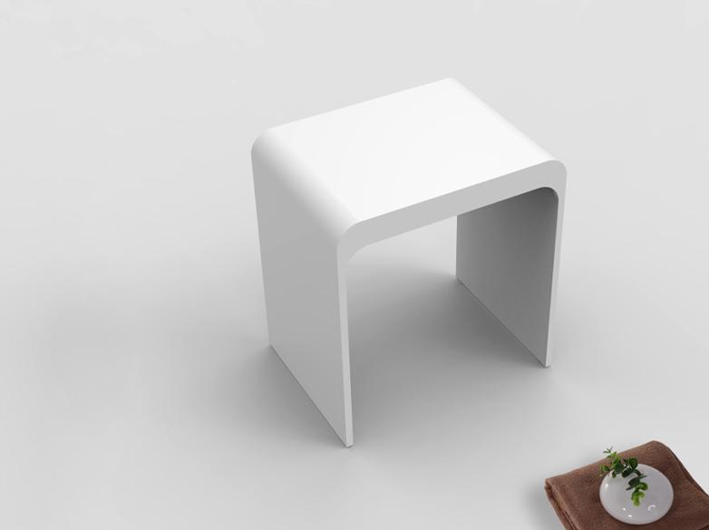 soild small bathroom stool customized for room-1