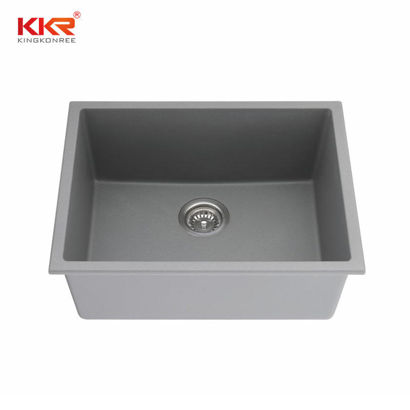 KKR High Quality quartz sink Customized quartz stone kitchen sink KKR-SQ906