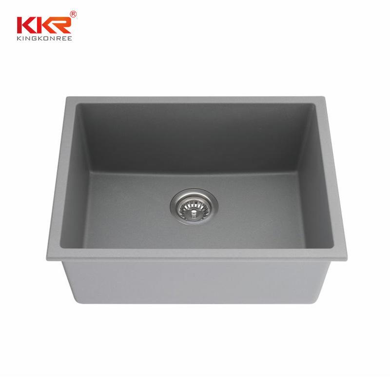 KKR High Quality quartz sink Customized quartz stone kitchen sink KKR-SQ906