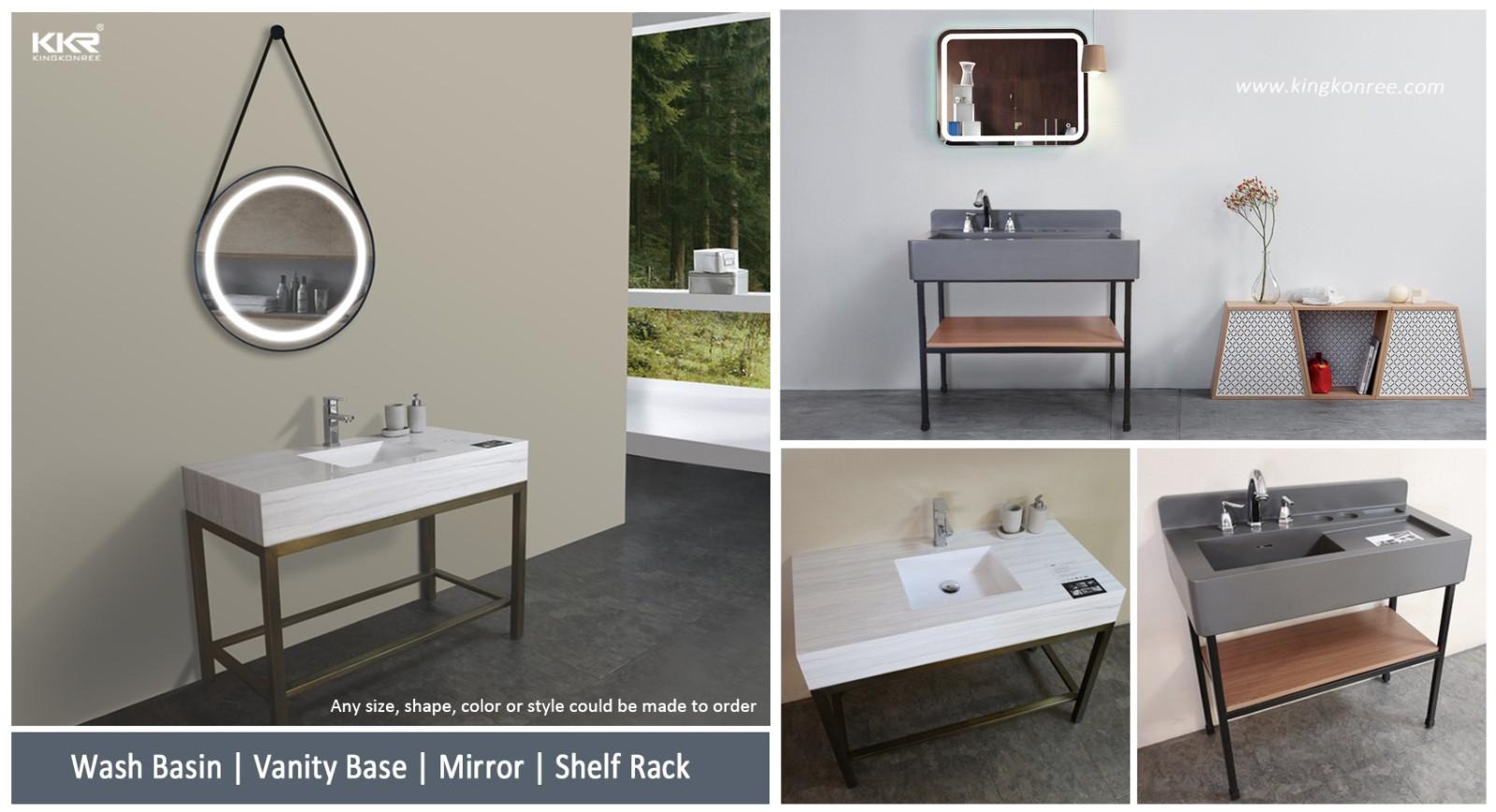 durable custom vanity tops customized for hotel-1