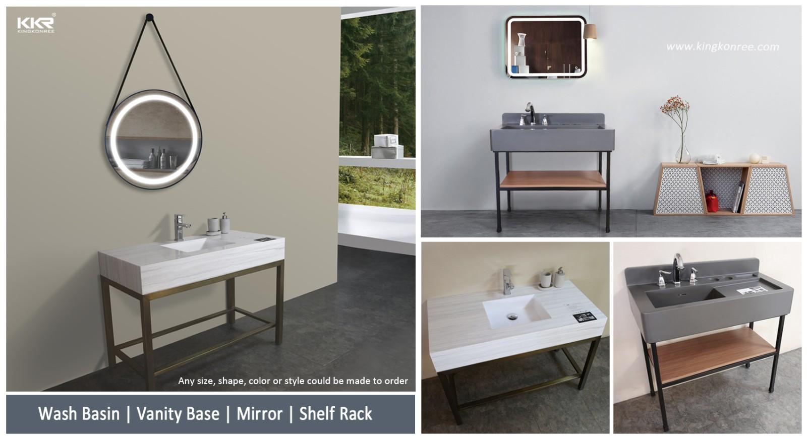 durable custom vanity tops customized for hotel