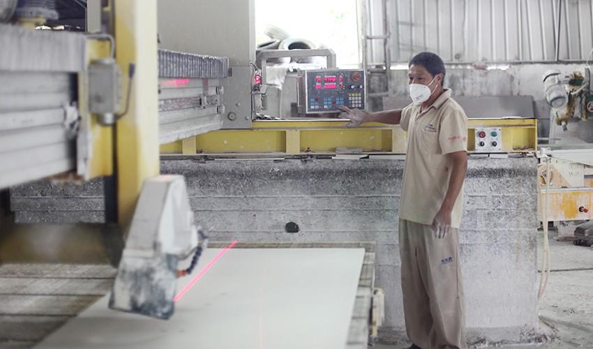 KingKonree artificial solid surface bathroom countertops supplier for bathroom-13