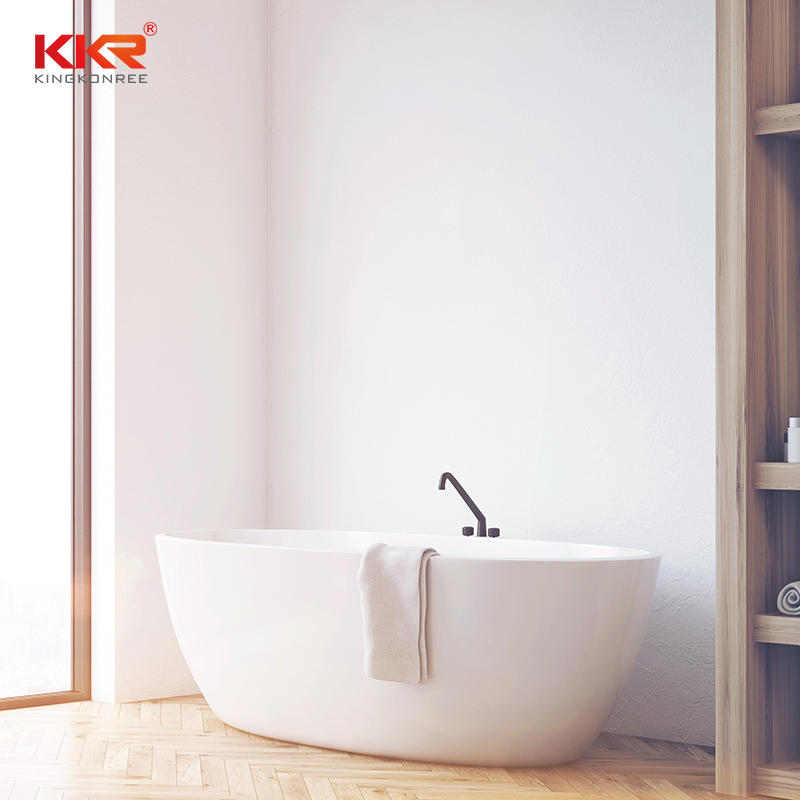 KKR Factory Freestanding Composite Stone Bathtub  KKR-B003