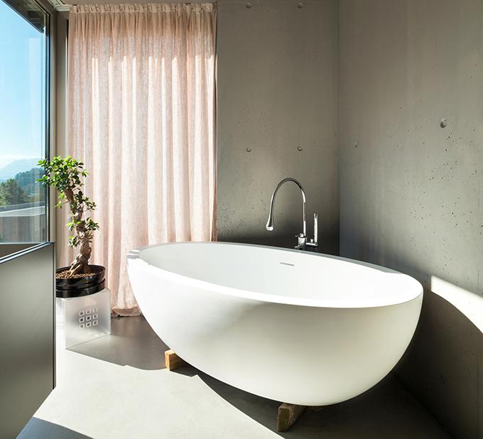 durable resin stone bathtub free design-1