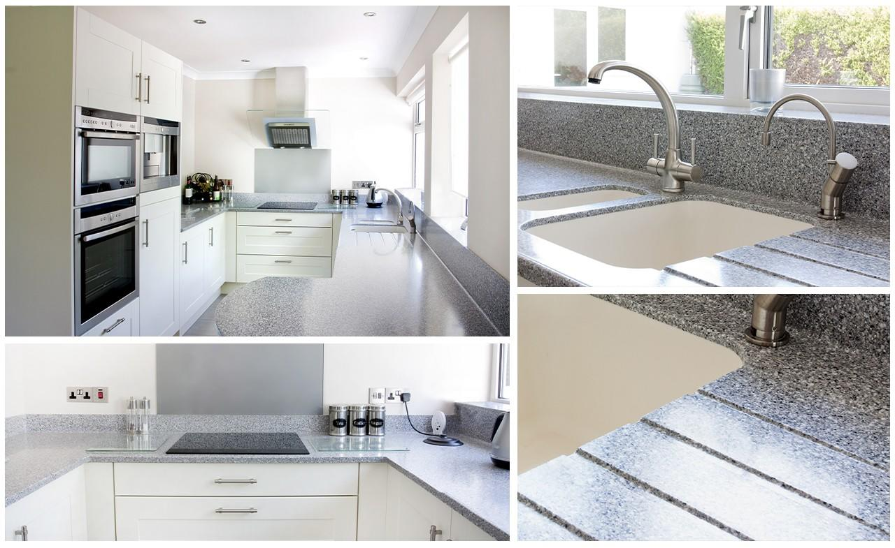 luxury solid worktops personalized for kitchen