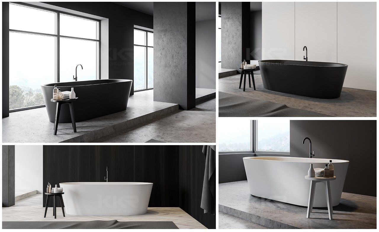 standard free standing soaking tubs free design for shower room-11
