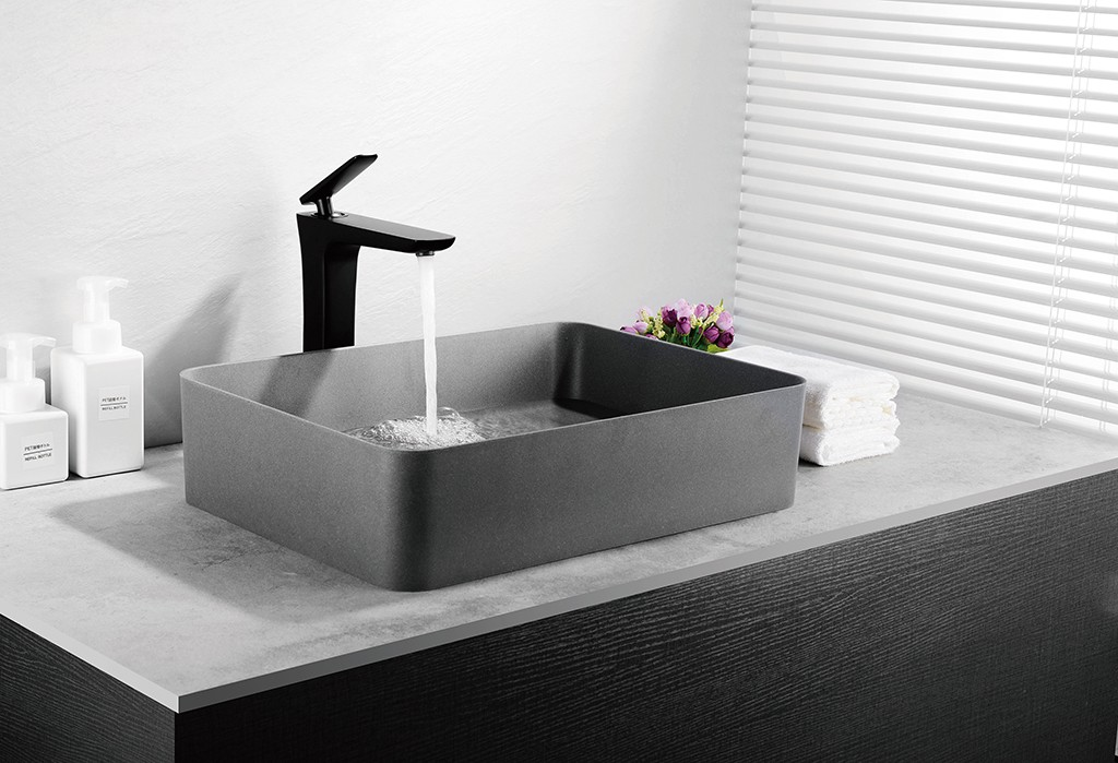 KingKonree excellent small countertop basin customized for room-1
