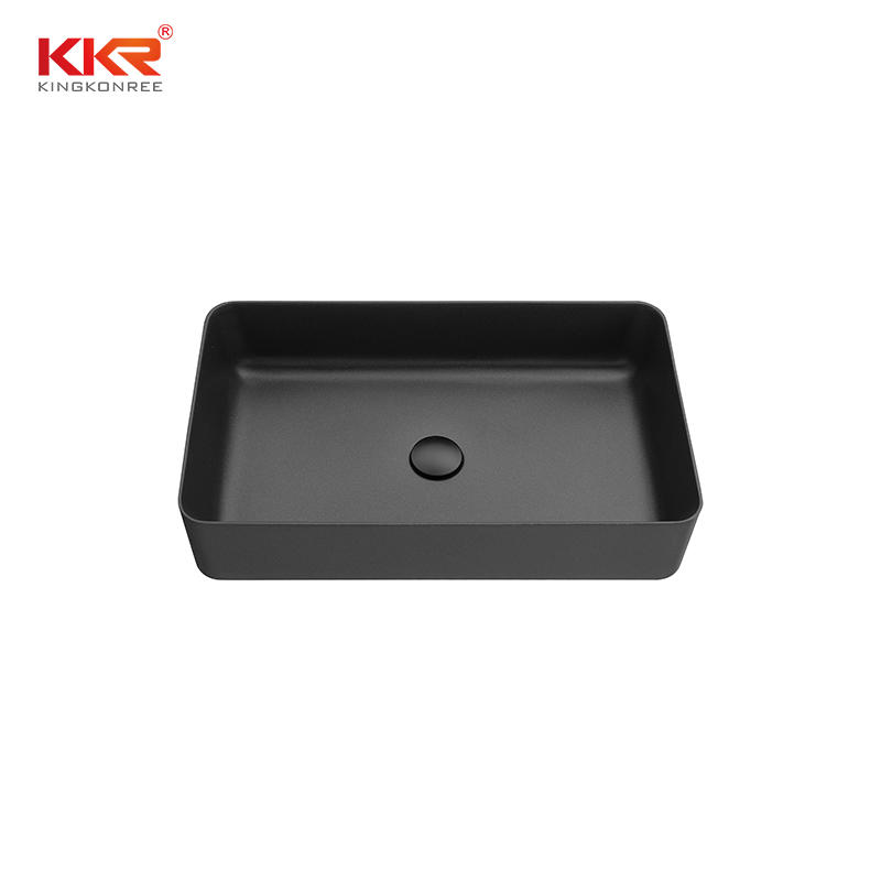 High quality factory Quartz stone basin deep single bowl kitchen sink