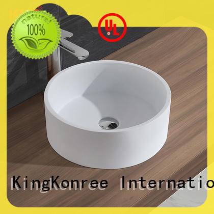 above counter sink bowl standard for room KingKonree