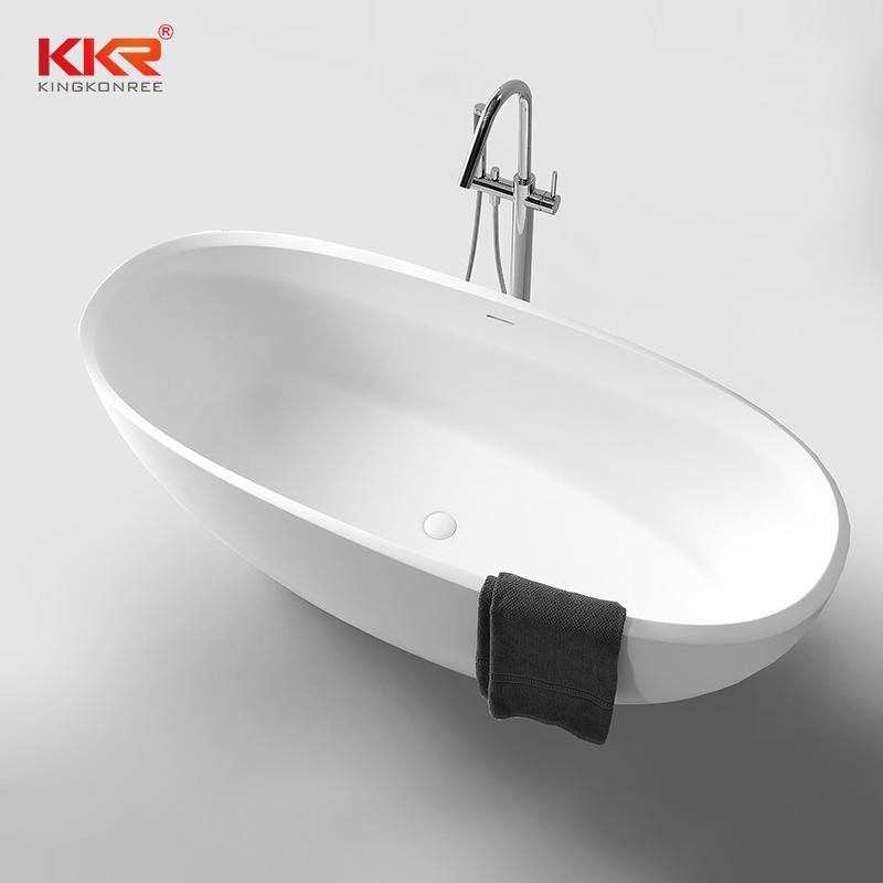 Eco-friendly freestanding bathtub solid surface bathtub