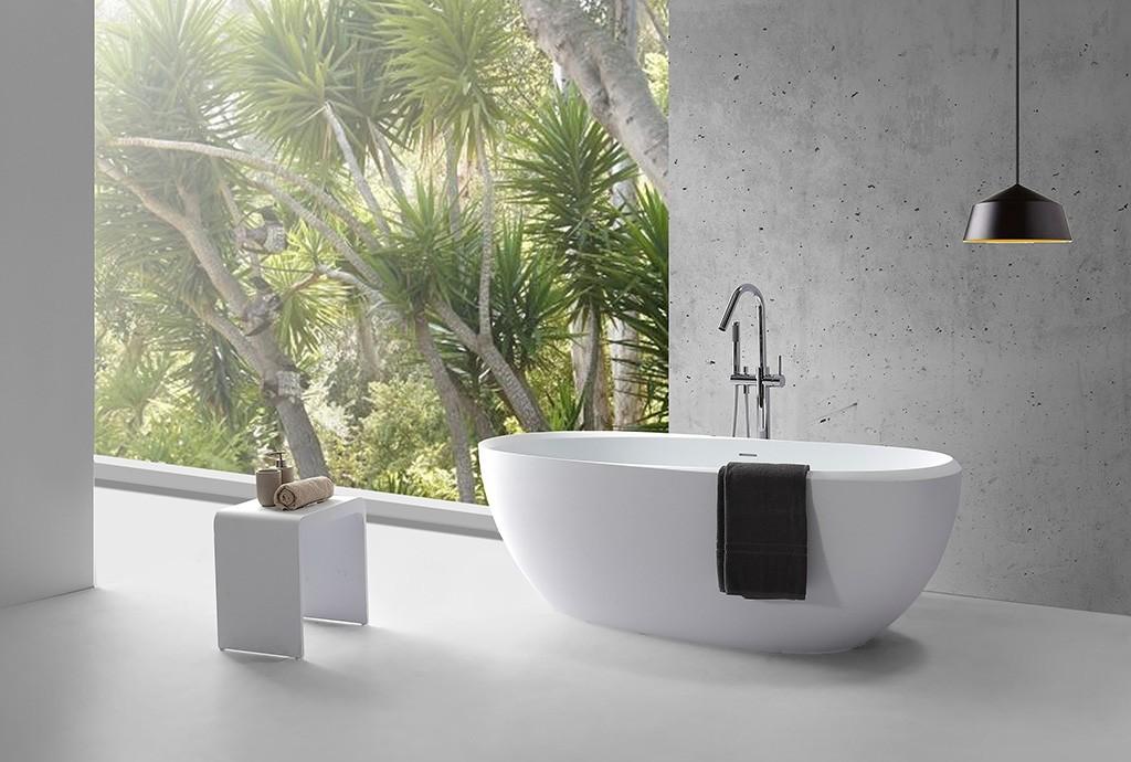 KingKonree modern freestanding tub free design-1
