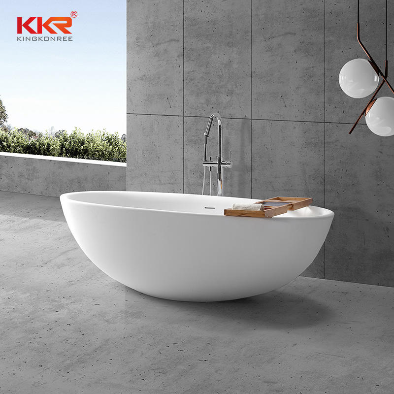 New 2020 Trending Products Solid Surface Freestanding Bathtub KKR-B092