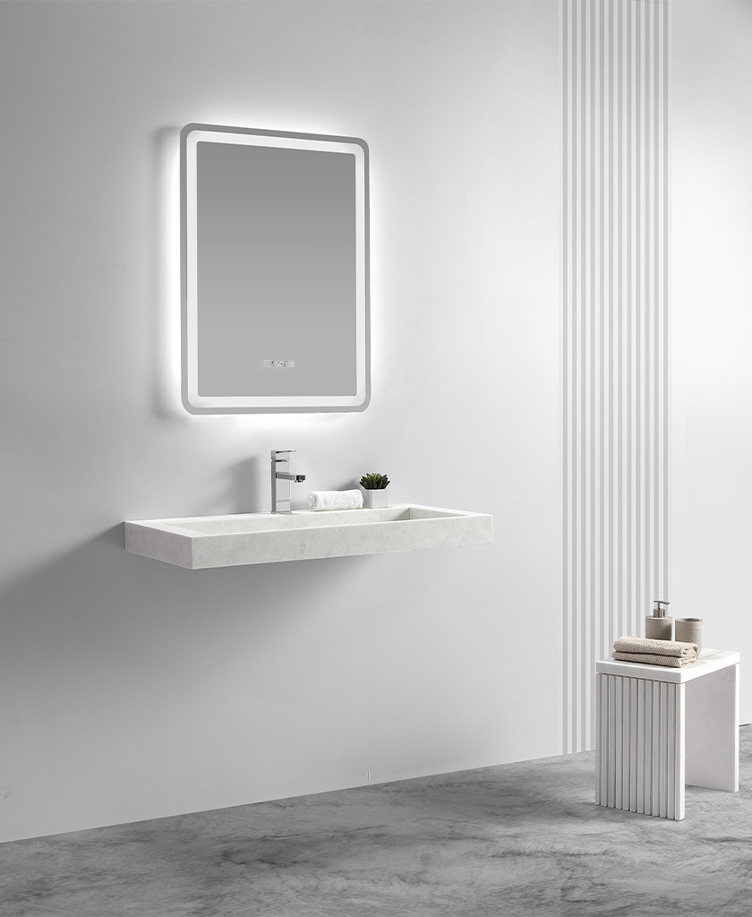 KingKonree small wall hung basin design for hotel-1