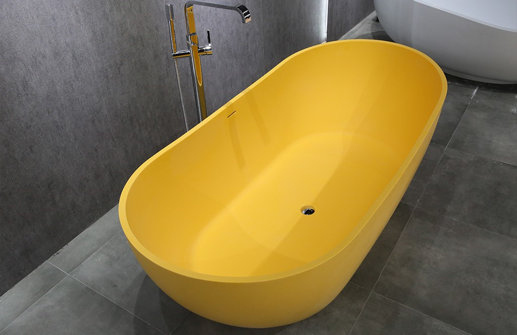 KingKonree high-quality rectangular freestanding bathtub free design for hotel-1