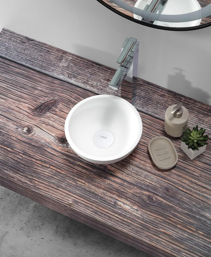 reliable top mount bathroom sink supplier for hotel