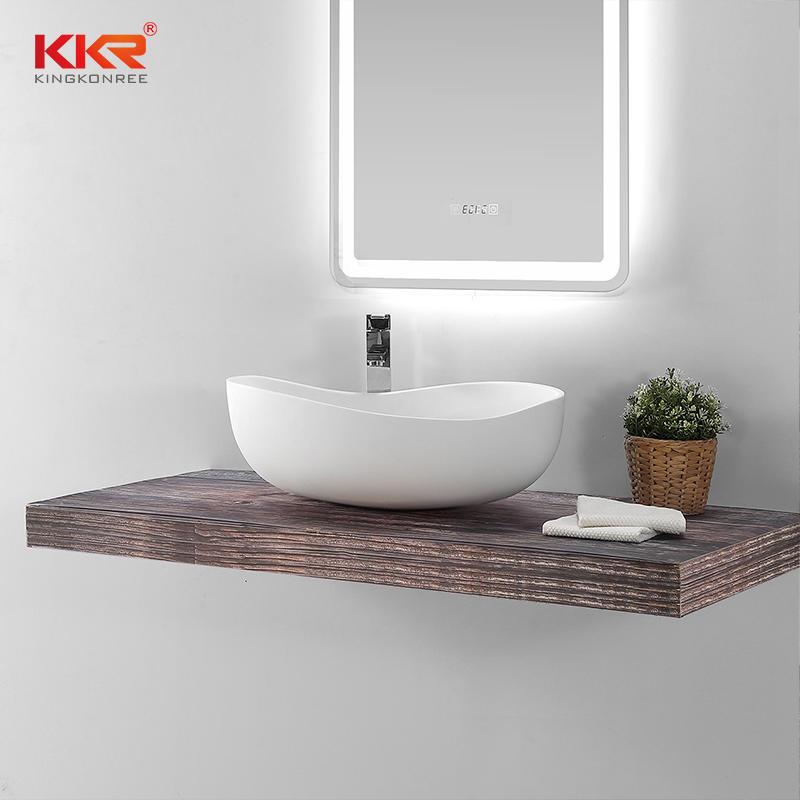 Special Design Acrylic Solid Surface Countertop Wash Basin