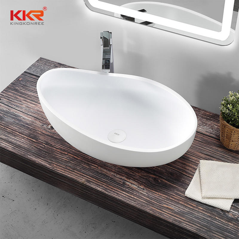 Special Design Acrylic Solid Surface Countertop Wash Basin