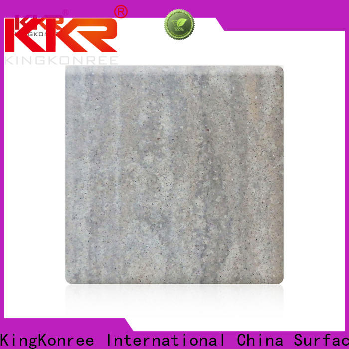 KingKonree marble acrylic solid surface from China for indoors