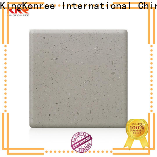 KingKonree white solid surface countertops manufacturer for room