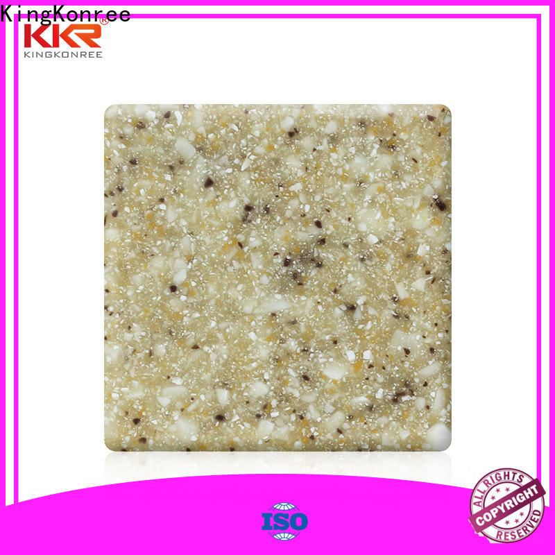 KingKonree solid surface countertops cost manufacturer for room