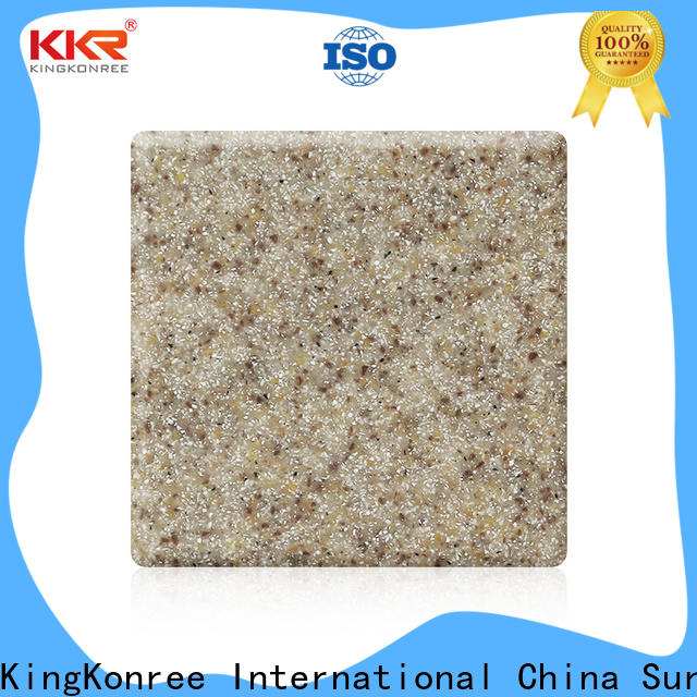 KingKonree nocturne types of solid surface countertops manufacturer for hotel