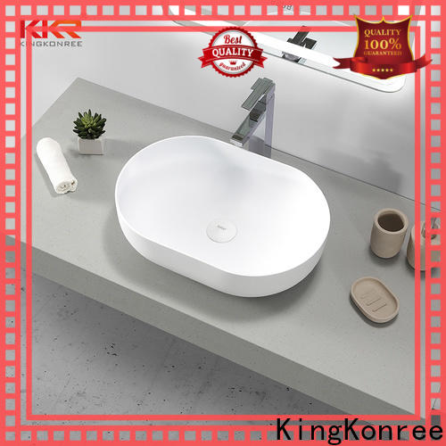 pure above counter vanity basin cheap sample for restaurant