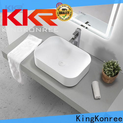sanitary ware above counter sink bowl supplier for room